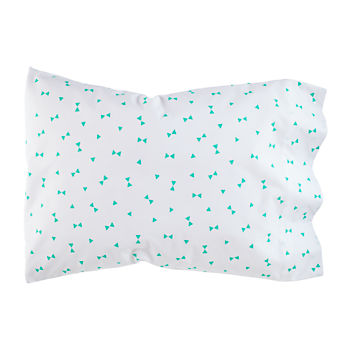 Go Lightly Pillowcase (Mint Triangle)