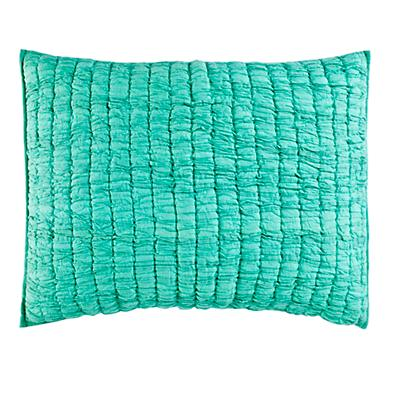 Go Lightly Quilted Sham (Mint)