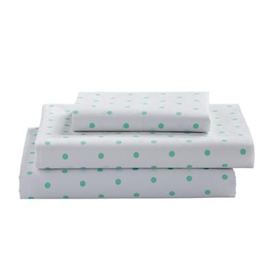 Twin Go Lightly Sheet Set (lMint Dot)