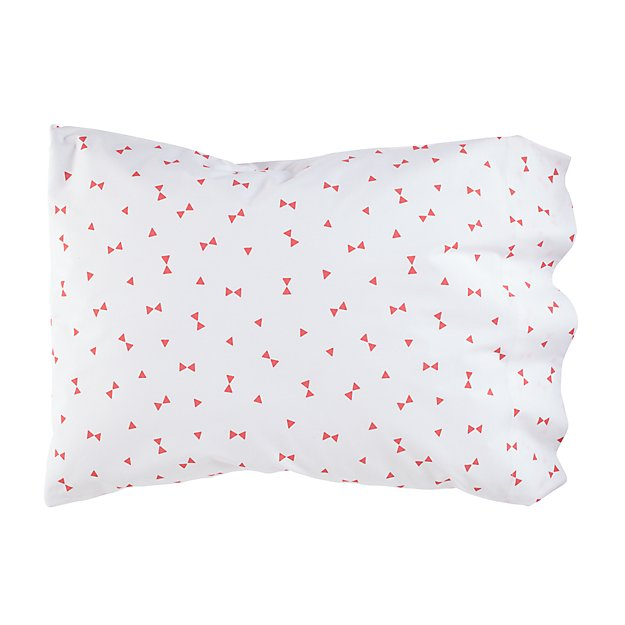 Go Lightly Pillowcase (Pink Triangle)