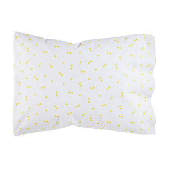 Organic Go Lightly Yellow Triangle Pillowcase