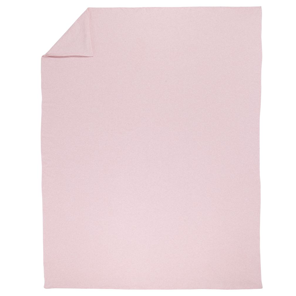 Full-Queen Pure Jersey Duvet Cover (Pink)