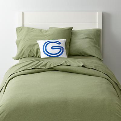 Pure Jersey Bedding (Green)