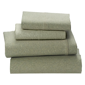 Queen Pure Jersey Sheet Set (Green)