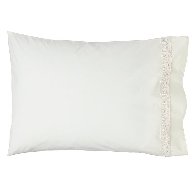 Lacy Pillowcase (White)