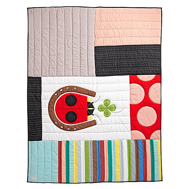 Charley Harper Lucky Ladybug Quilt (Twin)