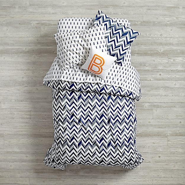 Little Prints Kids Bedding (Blue)