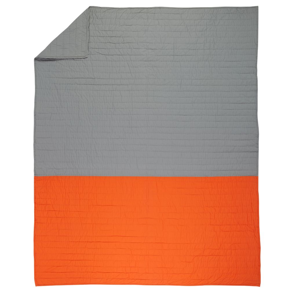 Twin Little Prints Quilt (Orange)