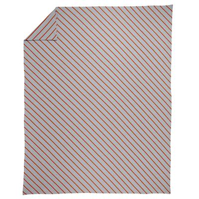 Twin Little Prints Duvet Cover (Orange Stripe)