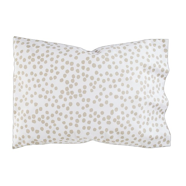 Mod Botanical Pillowcase (Grey Dot)