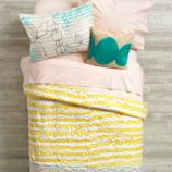 Mod Botanical Bedding (Yellow)