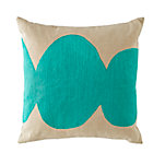 Aqua Mod Botanical Throw Pillow