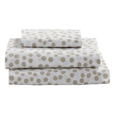 Twin Mod Botanical Sheet Set (Grey Dot)