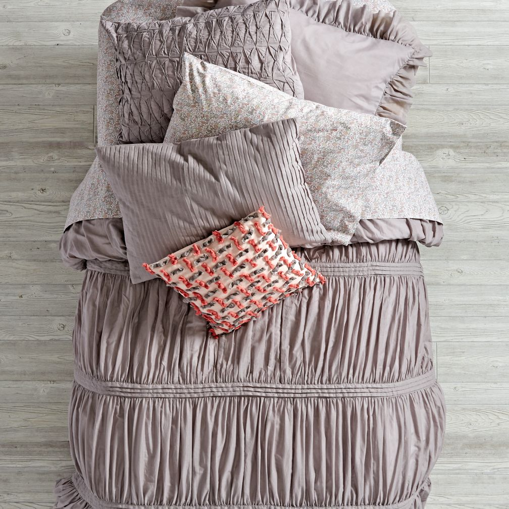 Modern Chic Duvet Cover (Grey)