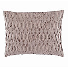 Grey Gathered Modern Chic Sham