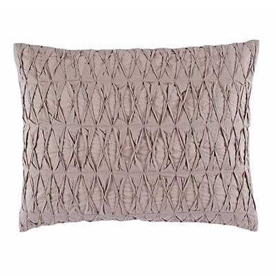 Modern Chic Sham (Grey Gathered)