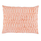 Pink Gathered Modern Chic Sham