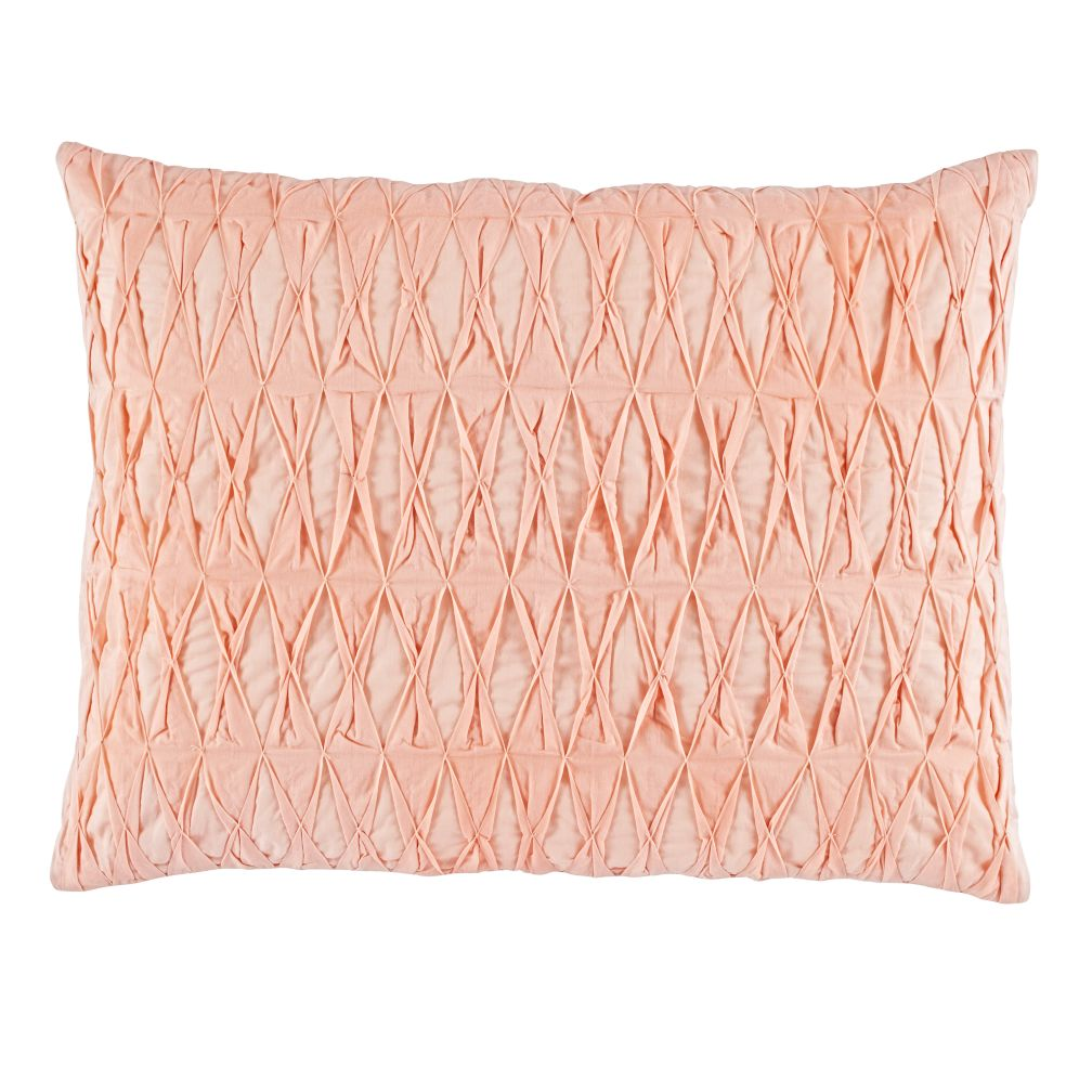 Modern Chic Sham (Pink Gathered)