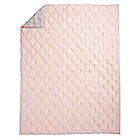 Full-Queen Pink Modern Chic Quilt