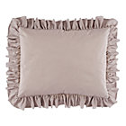 Grey Ruffled Modern Chic Sham