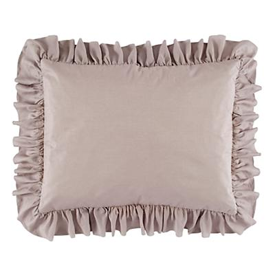 Modern Chic Sham (Grey Ruffled)