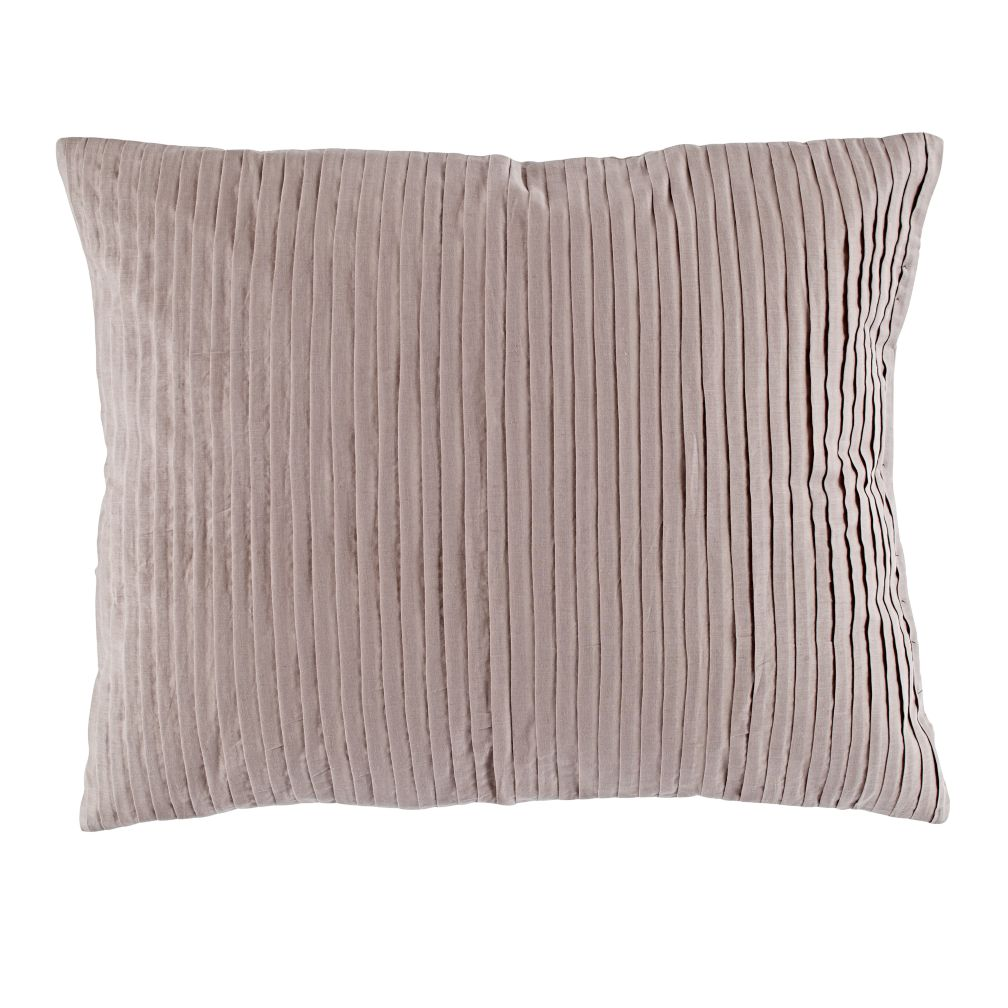 Modern Chic Sham (Grey Pleated)