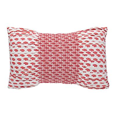 Bohemian Garden Throw Pillow