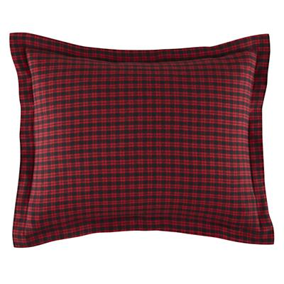 Northwoods Flannel PIllowcase
