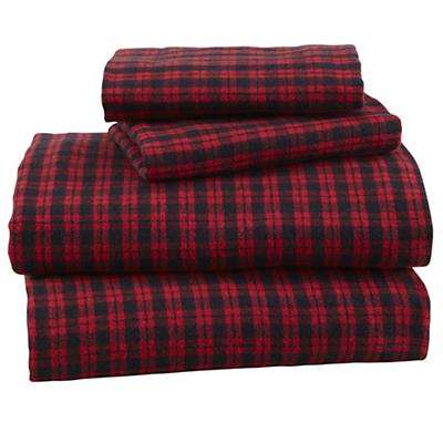 Northwoods Flannel Sheet Set (Full)
