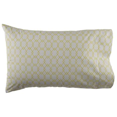 Grey Diamonds Pillowcase