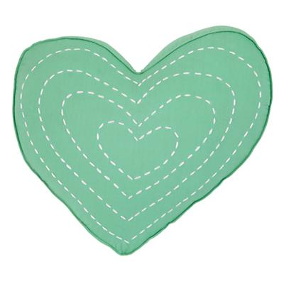 Pattern Party Heart Throw Pillow