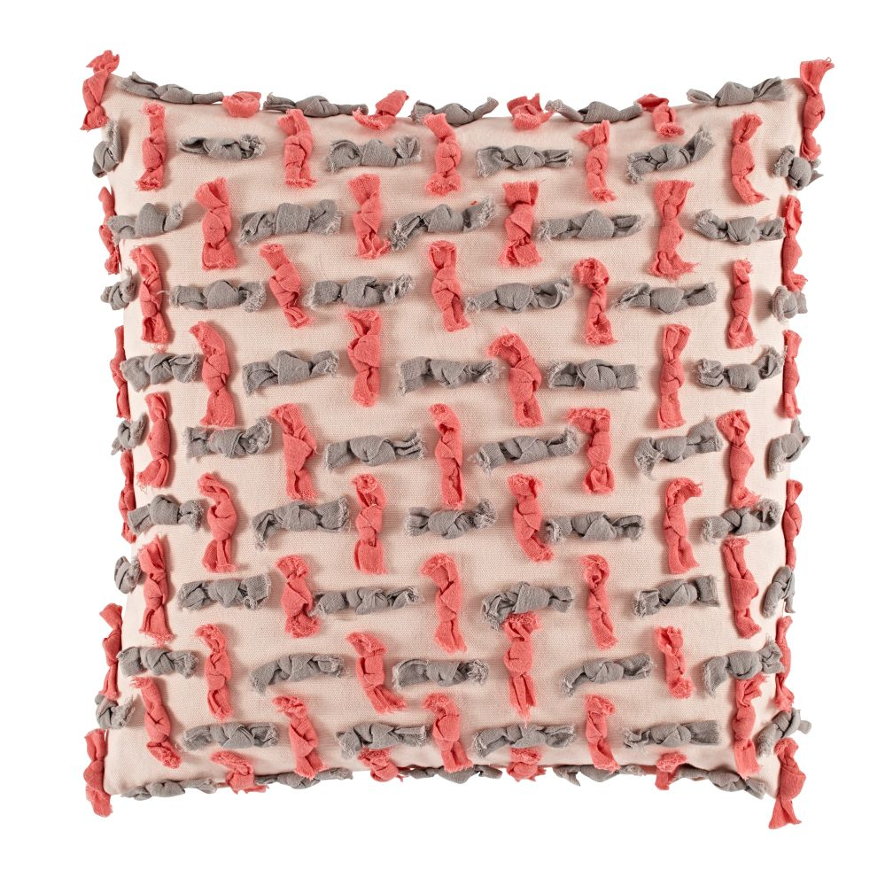 Modern Chic Throw Pillow Cover (Ties)