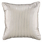 Silver Pinstripe Pillow
