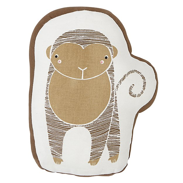 Savanna Monkey Throw Pillow