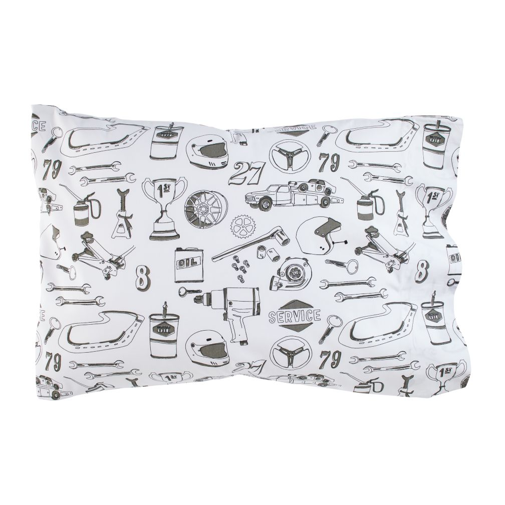 Pit Crew Pillowcase