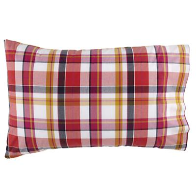 Pick Your Plaid Pink Pillowcase