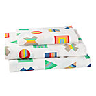 Twin Prism Pattern Sheet SetIncludes fitted sheet, flat sheet and one pillowcase