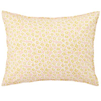 Puzzle Patch Yellow Floral Sham