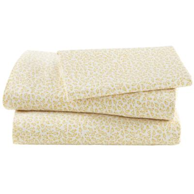 Puzzle Patch Yellow Floral Sheet Set (Twin)