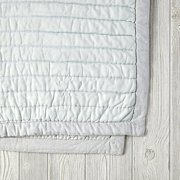 Cotton Candy Quilt (Mint) | The Land of Nod : cotton candy quilts - Adamdwight.com