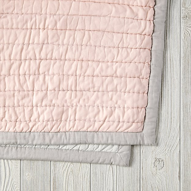 Cotton Candy Quilt (Pink) | The Land of Nod : cotton candy quilts - Adamdwight.com