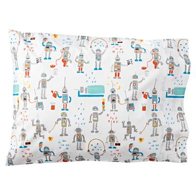 Organic Rad Robot Pillowcase