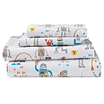 Organic Rad Robot Full Sheet Set