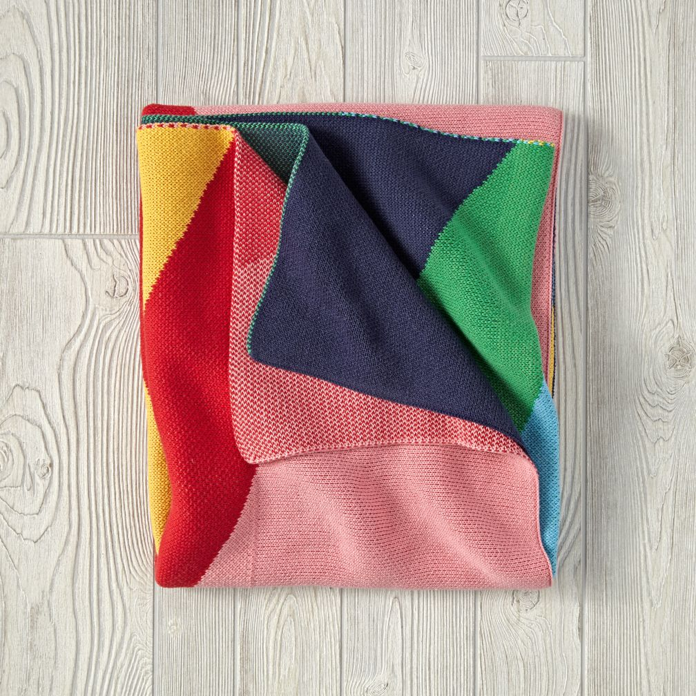 Rainbow Peak Blanket