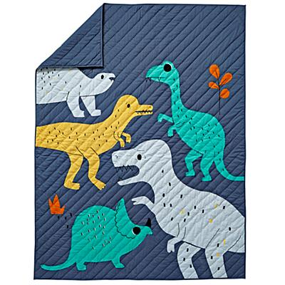 Twin Retro Reptile Quilt