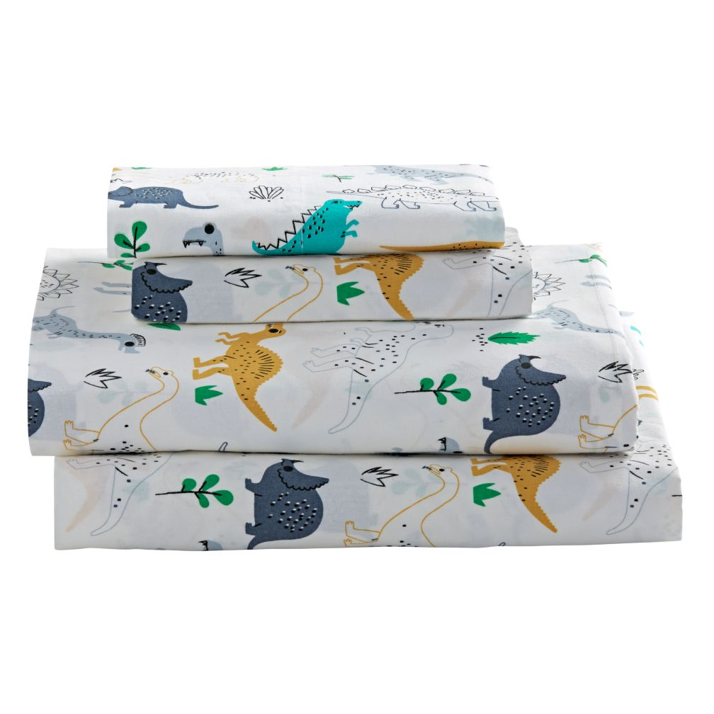 Retro Reptile Dinosaur Sheet Set The Land Of Nod
