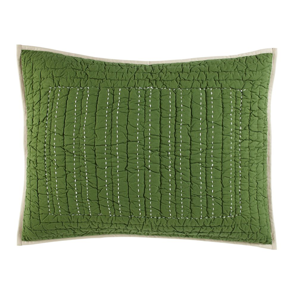 Stitched Moving Sham (Green)