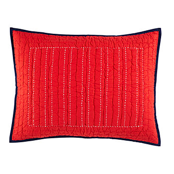 Stitched Moving Sham (Red)