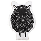 Black Sheepish Filled Pillow