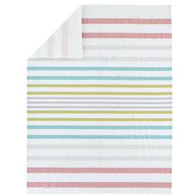 Full/Queen Sherbet Stripes Duvet Cover
